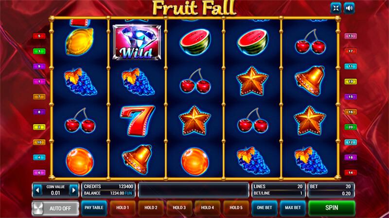 Изображение игрового автомата Fruit Fall 1