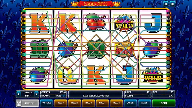 Изображение игрового автомата Reel King 2