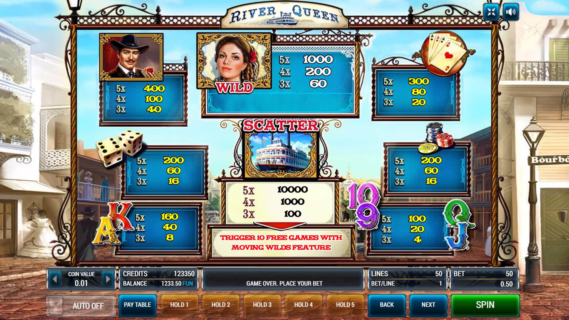 Изображение игрового автомата River Queen 3