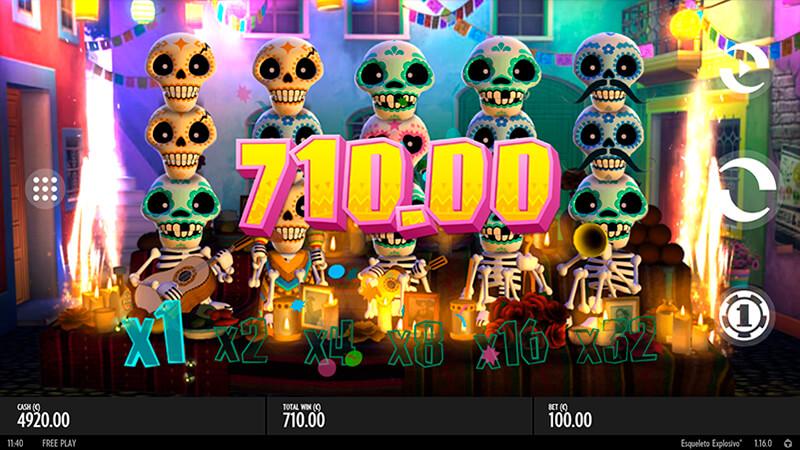Изображение игрового автомата Esqueleto Explosivo 2
