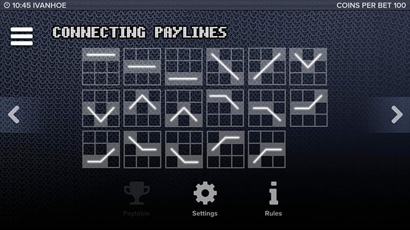 Изображение игрового автомата Ivanhoe 3