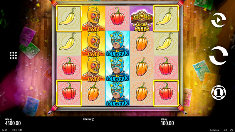 Изображение игрового автомата Luchadora 1