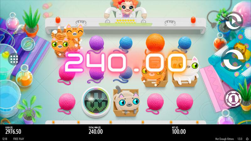 Изображение игрового автомата Not Enough Kittens 2