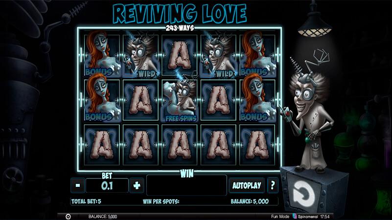 Изображение игрового автомата Reviving Love 2