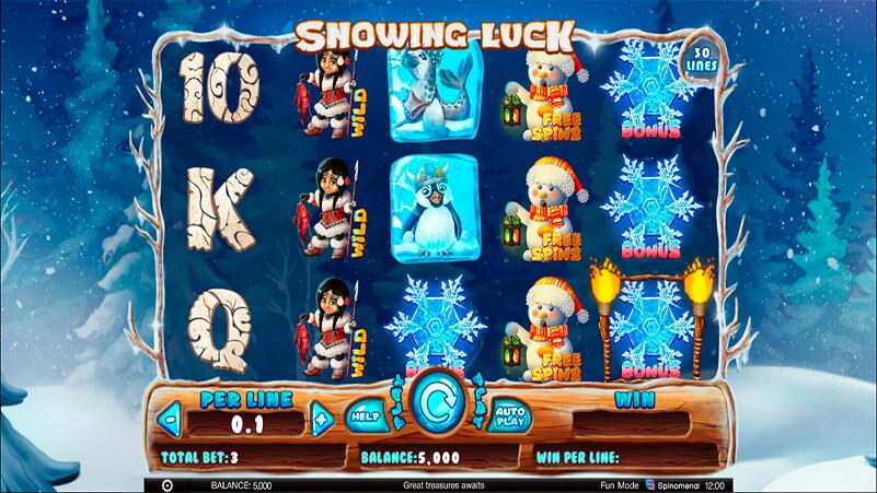 Изображение игрового автомата Snowing Luck 1