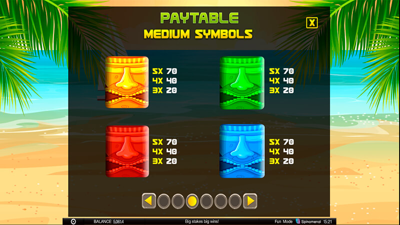 Изображение игрового автомата Tiki Rainbow 3