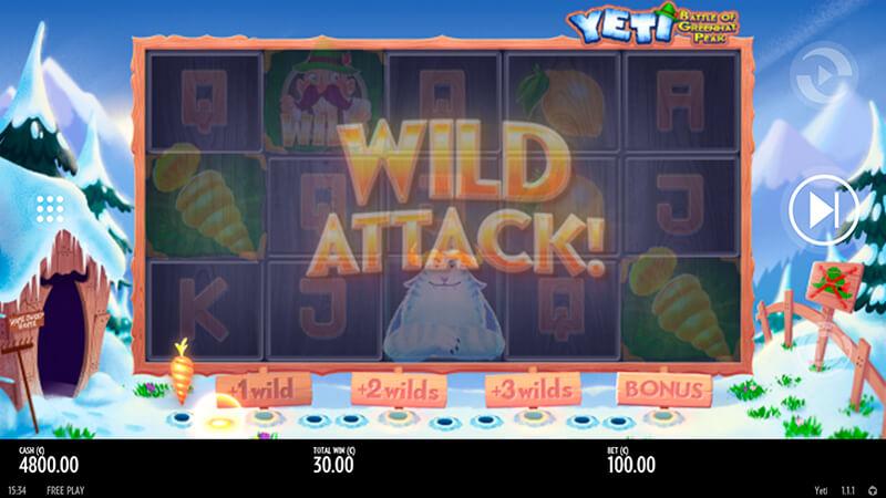 Изображение игрового автомата Yeti 2