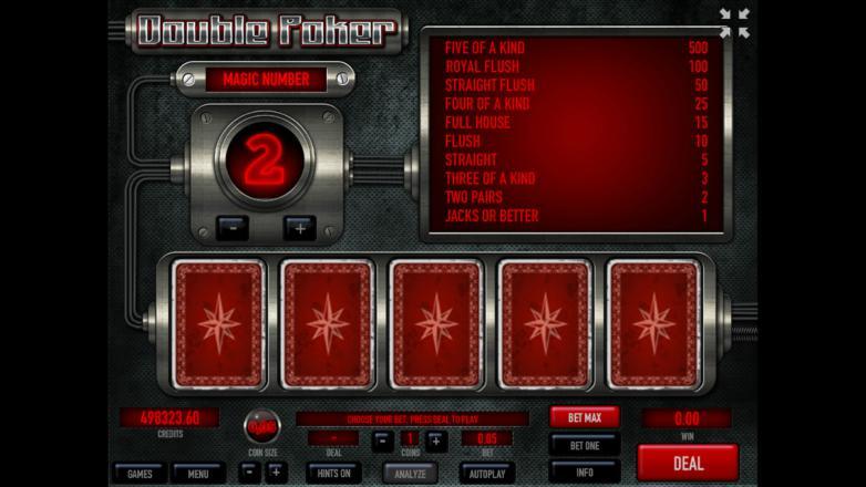 Изображение игрового автомата Double Poker 2