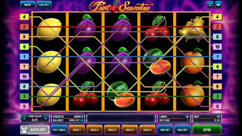 Изображение игрового автомата Fruit Sensation 1