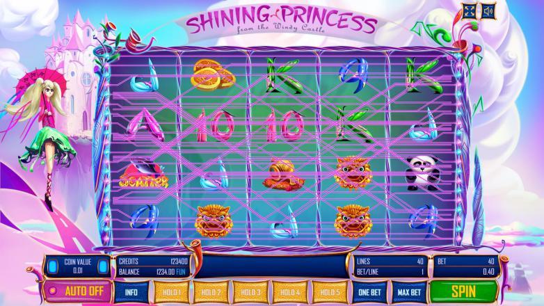 Изображение игрового автомата Shining Princess 1