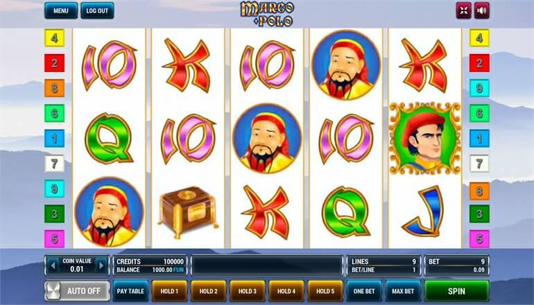 Изображение игрового автомата Marco Polo 2