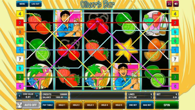 Изображение игрового автомата Oliver's Bar 1